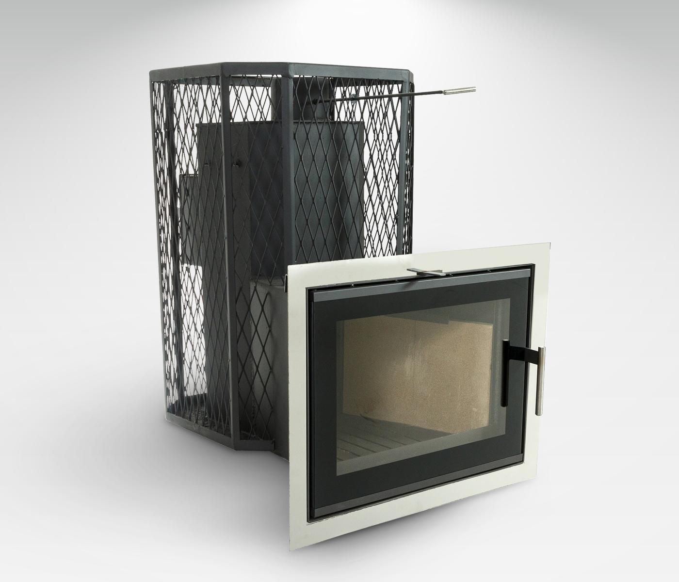 Pirts krāsns Gaiziņš 20/30m³ Plazma NTR ar tvaika ģeneratoru