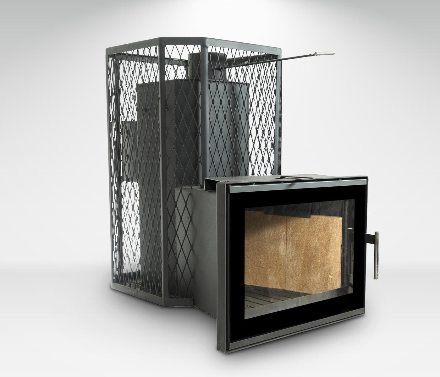 Pirts krāsns Gaiziņš 20/30m³ Plazma ar tvaika ģeneratoru