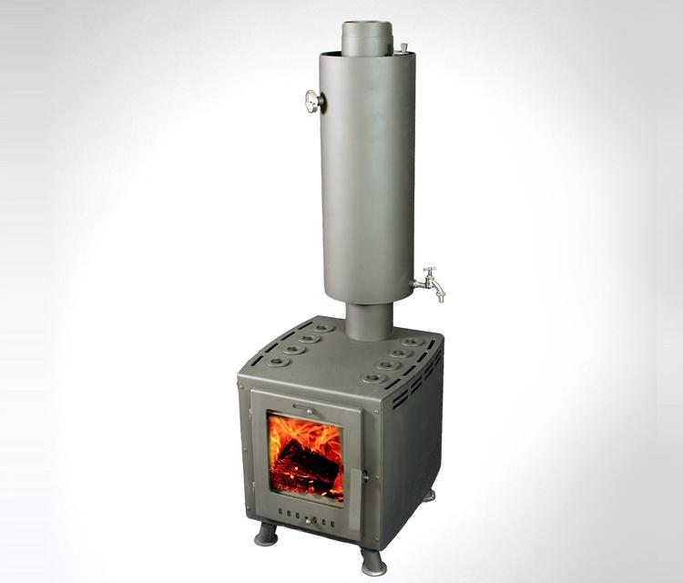 Krāsns Nuf Nuf 10 ar ūdens boileri